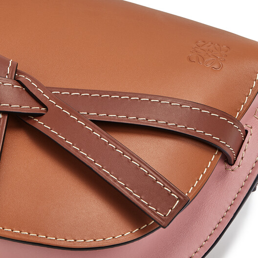 LOEWE Gate 小包 Tan/Medium Pink front