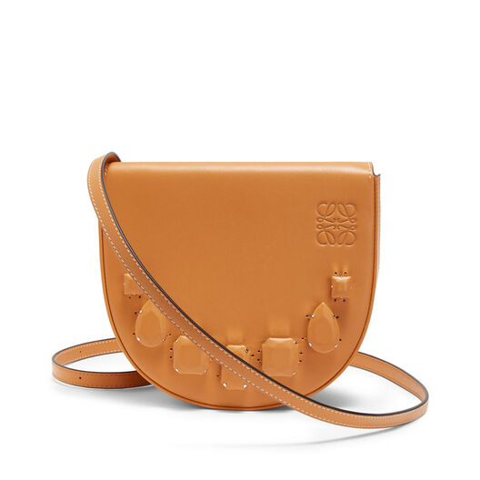 LOEWE Heel Mini Bag Jeweled Amber front