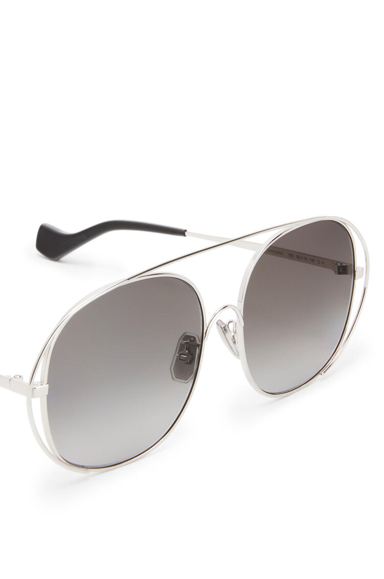 LOEWE Metal Round Sunglasses Anthracite pdp_rd
