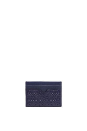 LOEWE プレーン カードホルダー(カーフスキン) ネイビーブルー pdp_rd