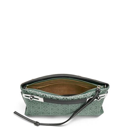 LOEWE Missy Repeat Small Bag Vetiver/Black front