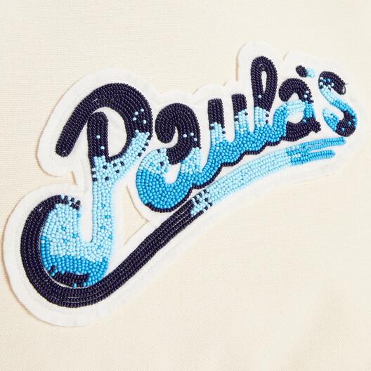 LOEWE Bolso Paula's Beach Cabas Confeccionado En Lona Ecru front