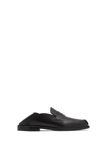 LOEWE Slip on loafer in calfskin Black/Black pdp_rd