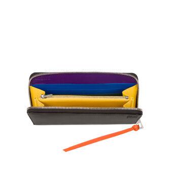 LOEWE Billetero C/Cremallera Rainbow Multicolor/Negro front