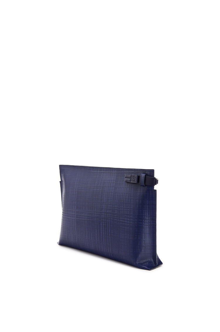 LOEWE T Pouch in calfskin Navy Blue pdp_rd