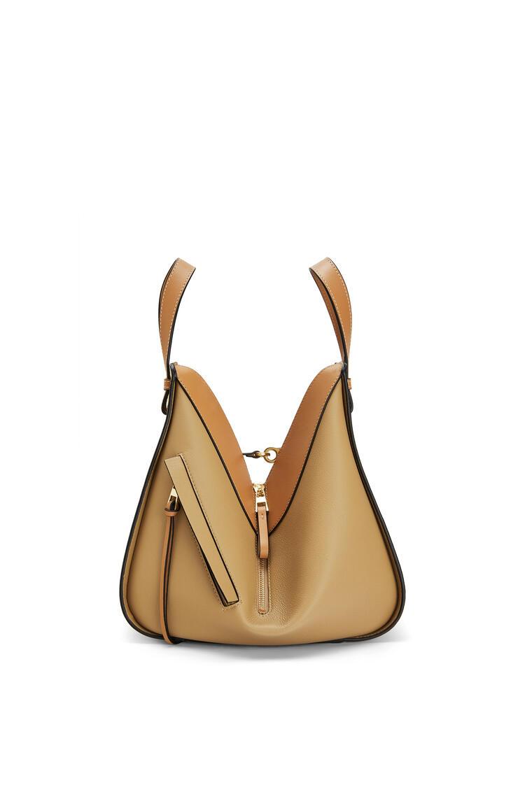 LOEWE Small Hammock bag in classic calfskin Vanilla/Dune pdp_rd