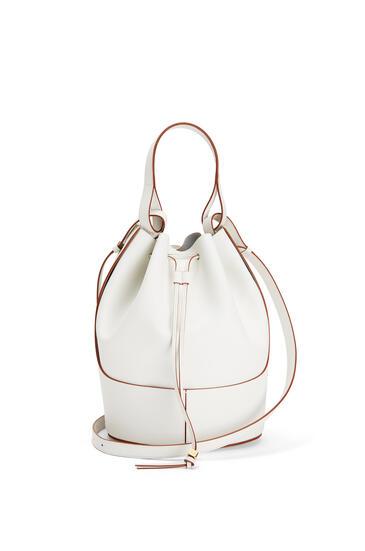 LOEWE Balloon Bag In Nappa Calfskin Soft White pdp_rd