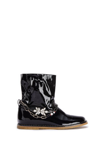 LOEWE Chain boot in calf Black pdp_rd