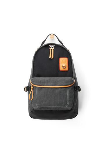 LOEWE Backpack in Canvas Black pdp_rd