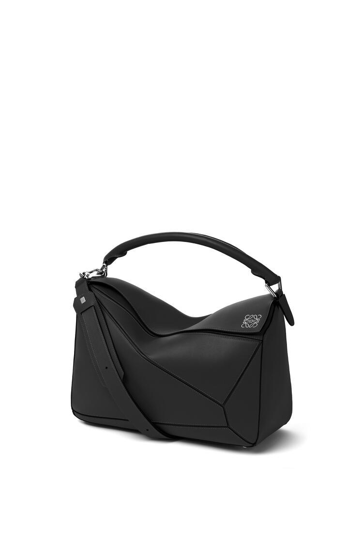 LOEWE Puzzle Bag In Classic Calfskin 黑色 pdp_rd