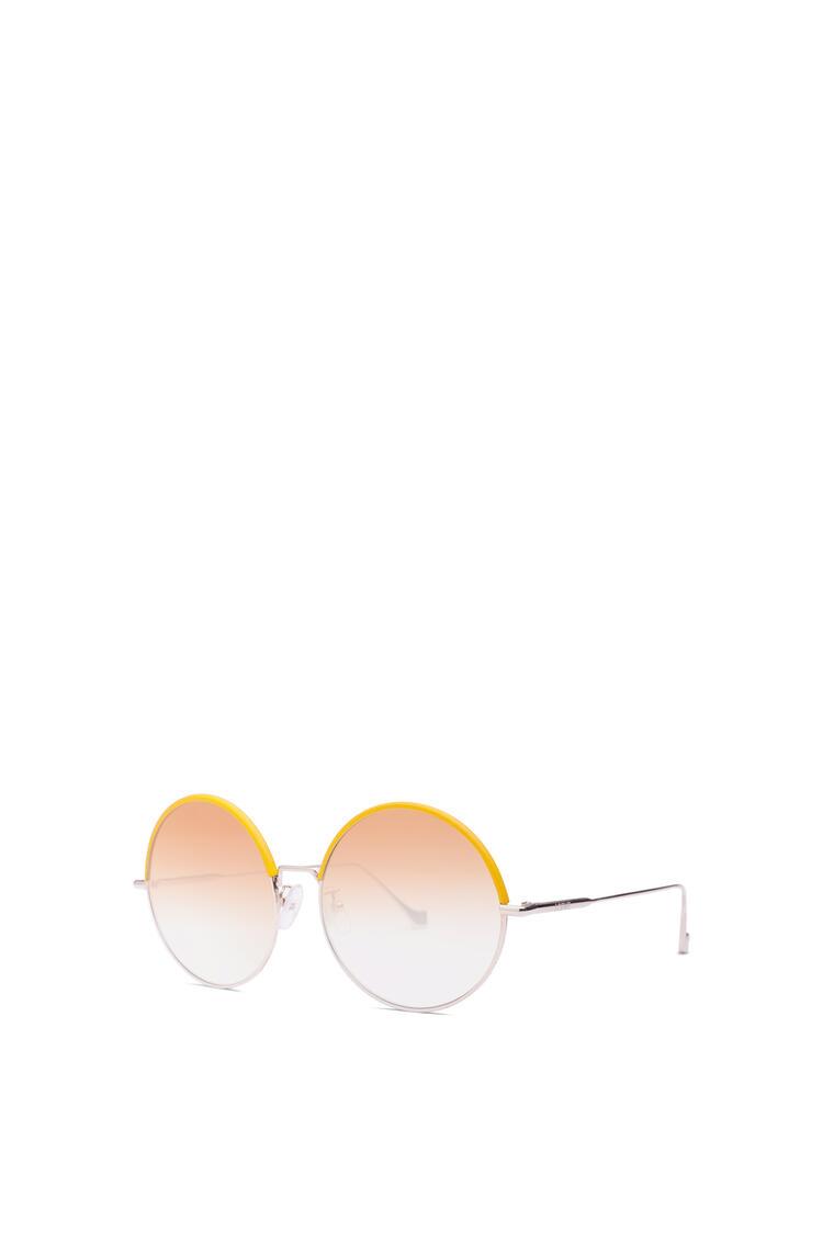 LOEWE Round Sunglasses Yellow/Gradient Yellow pdp_rd