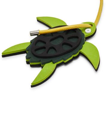 LOEWE Paula Charm Tortuga Verde/Negro front
