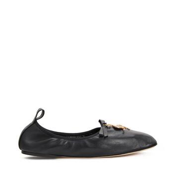 LOEWE Dodo Ballerina ブラック front