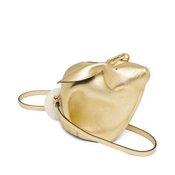 LOEWE Bunny Mini Bag Gold front