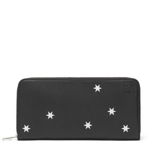 Zip Around Wallet Stars