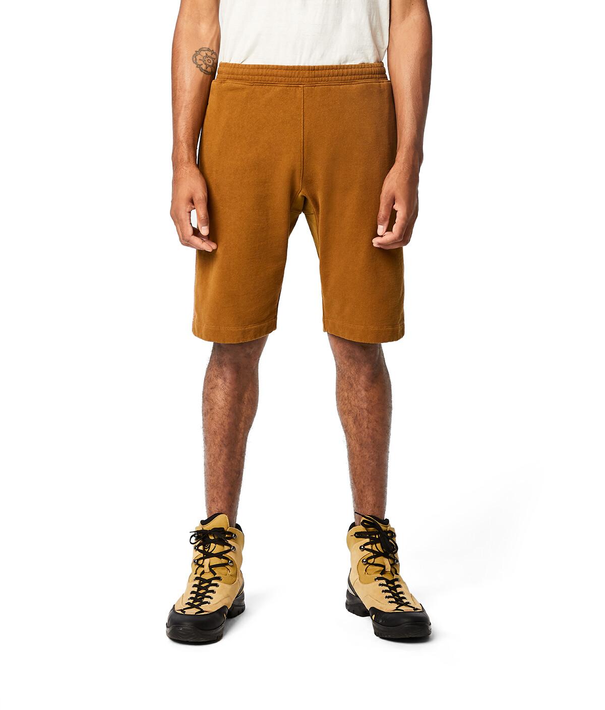 LOEWE Eln Fleece Shorts 駝色 front