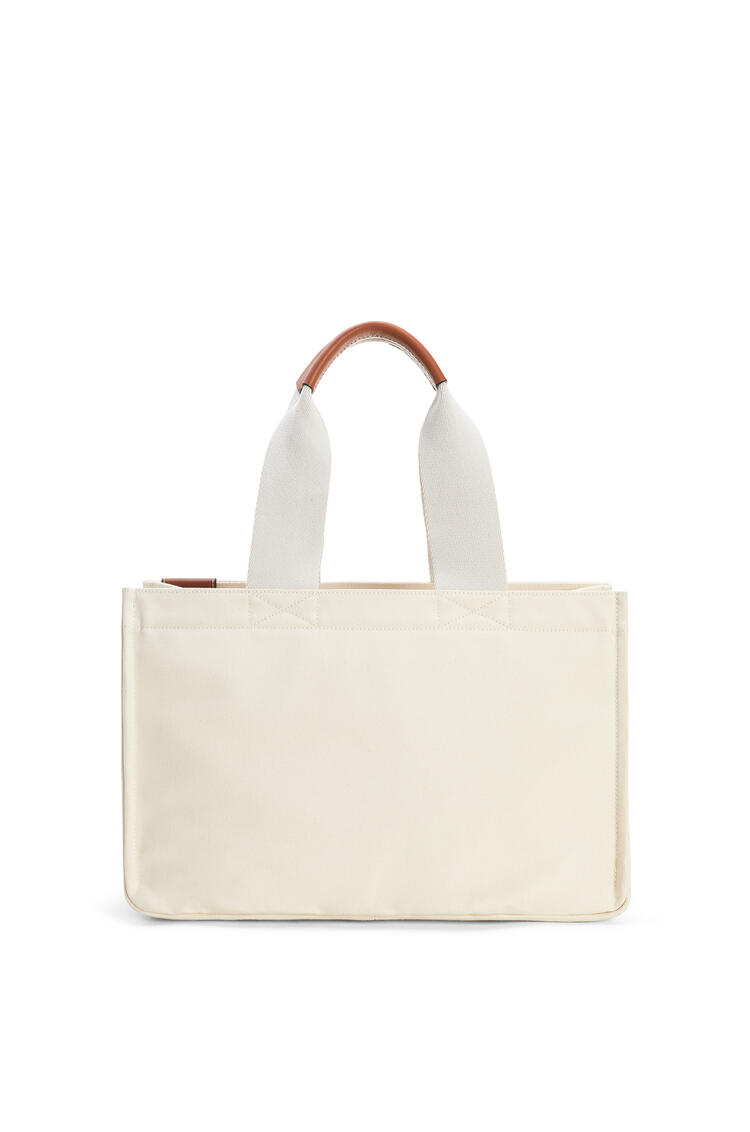 LOEWE Paula's Beach Cabas bag in canvas Ecru pdp_rd