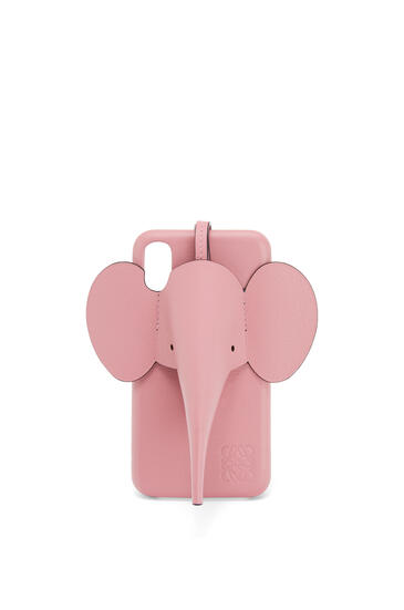 LOEWE Elephant Cover For Iphone X/Xs In Classic Calfskin 糖果粉 pdp_rd