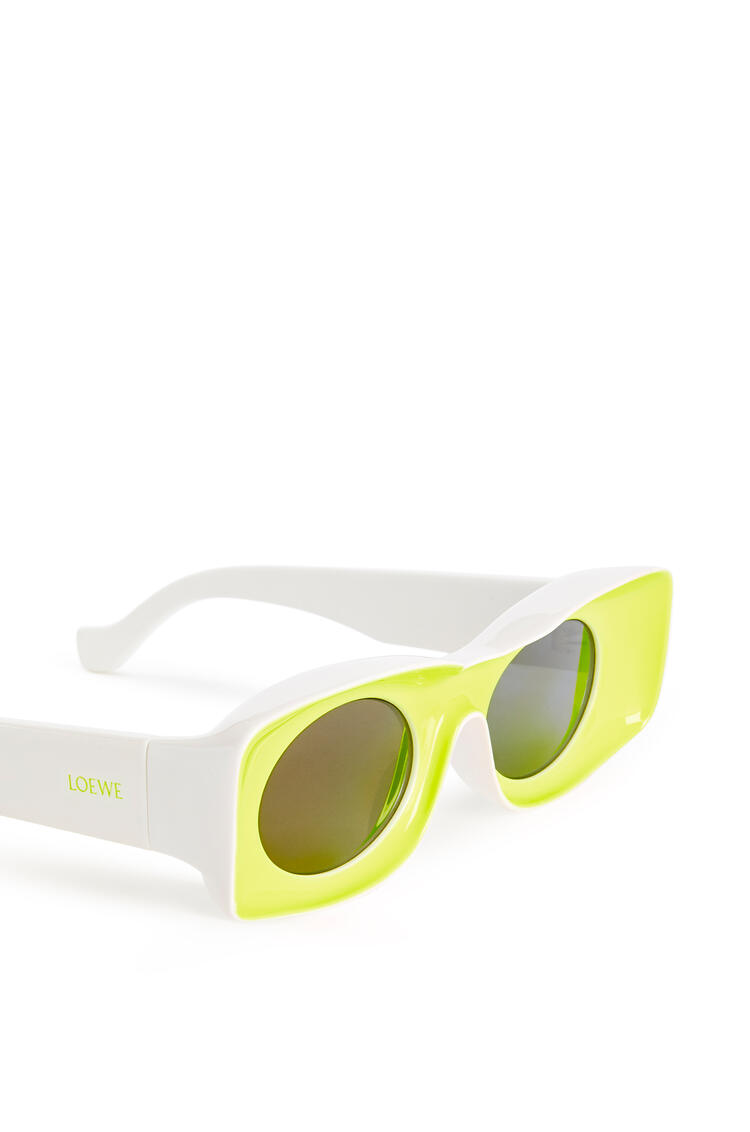 LOEWE Sunglasses in acetate Neon Yellow pdp_rd