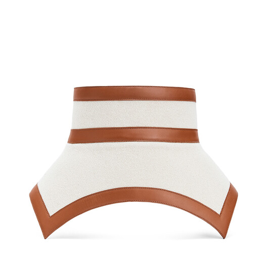 LOEWE Cinturon Obi Ecru/Bronceado front