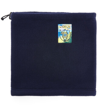 LOEWE Eln Fleece Snood Navy Blue front