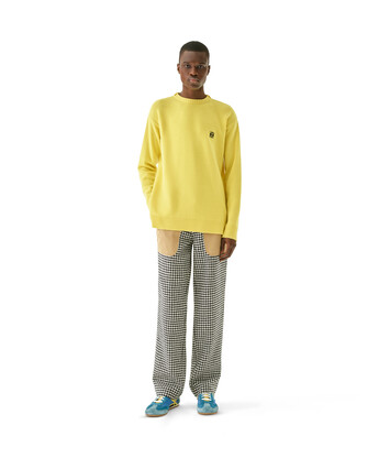 LOEWE Anagram Sweater Yellow front