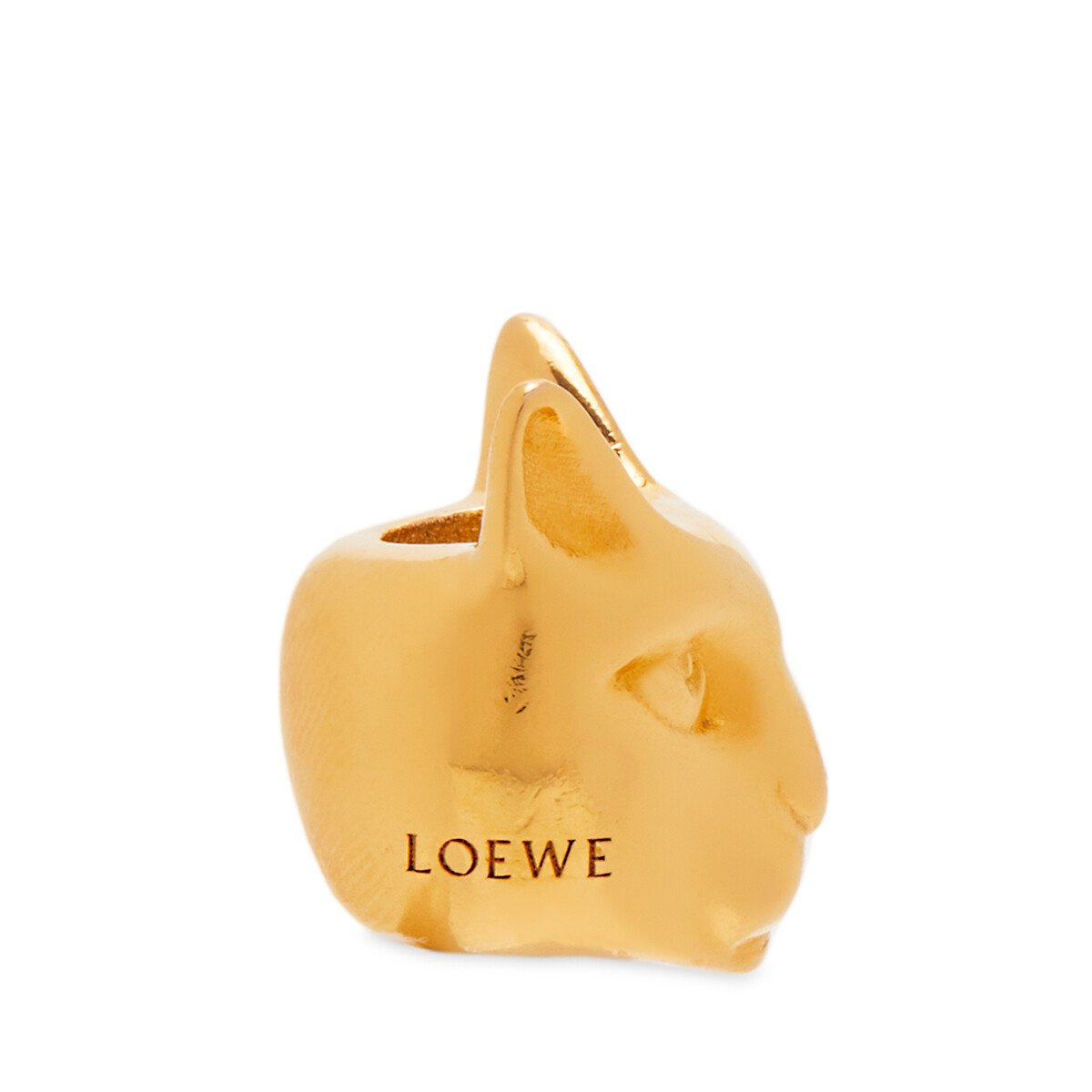 LOEWE Animal Small Dice 金色 front