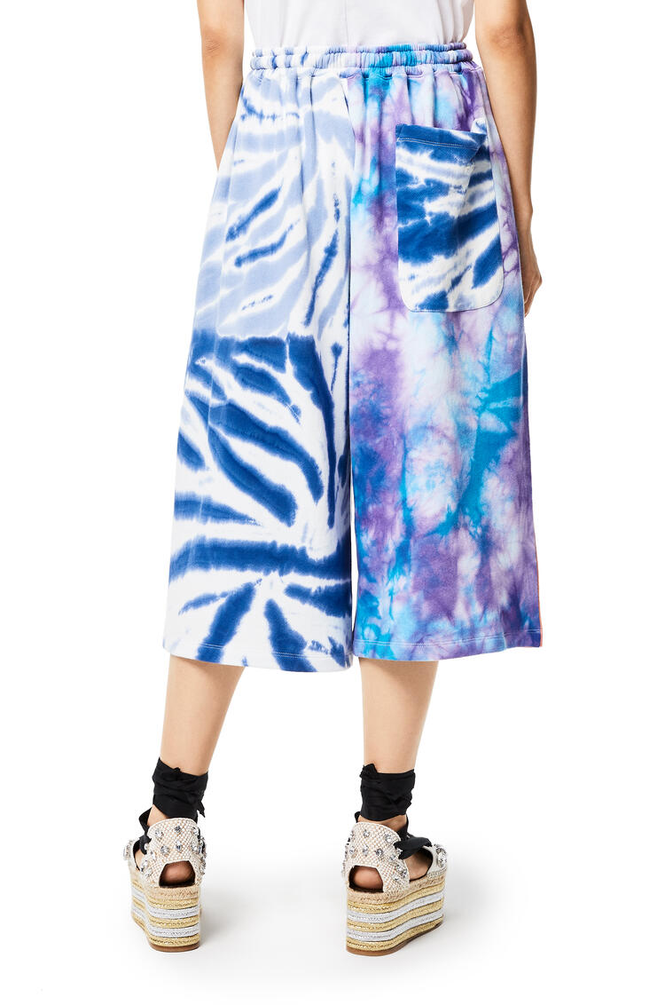 LOEWE Shorts in tie dye cotton Multicolor pdp_rd