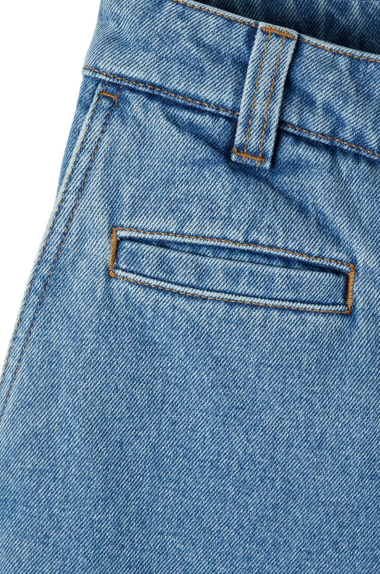 LOEWE Fisherman Jeans In Cotton Blue Denim pdp_rd
