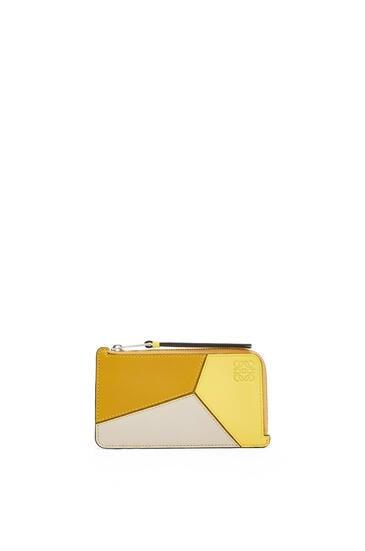 LOEWE 经典小牛皮 Puzzle 硬币卡包 Ochre/Yellow pdp_rd