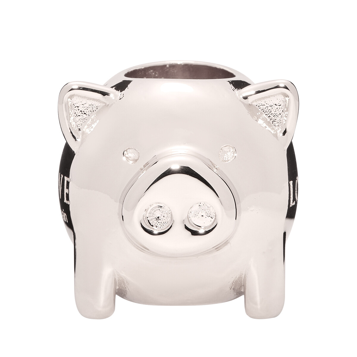 LOEWE Animal Big Dice Palladium front
