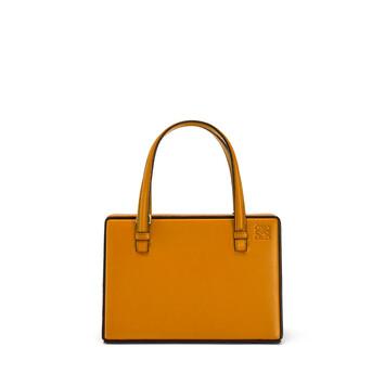 LOEWE Postal Small Bag Ochre front