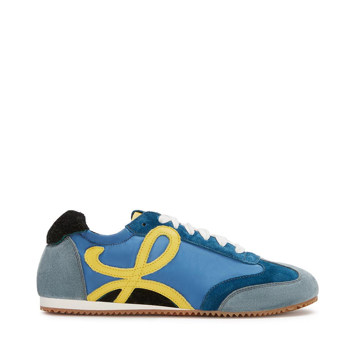 LOEWE Ballet Runner Azul/Amarillo front