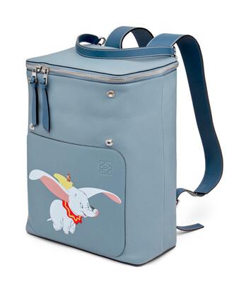 LOEWE Goya Dumbo Backpack Stone Blue front