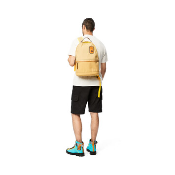 LOEWE Eye/Loewe/Nature Backpack Small Gold front