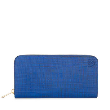 LOEWE Zip Around Wallet 电光蓝 front