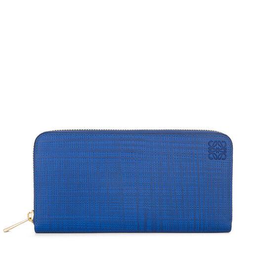 LOEWE Billetero C/Cremallera Azul Electrico all