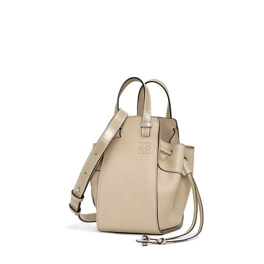 LOEWE Hammock Drawstring Mini Bag Light Oat  front