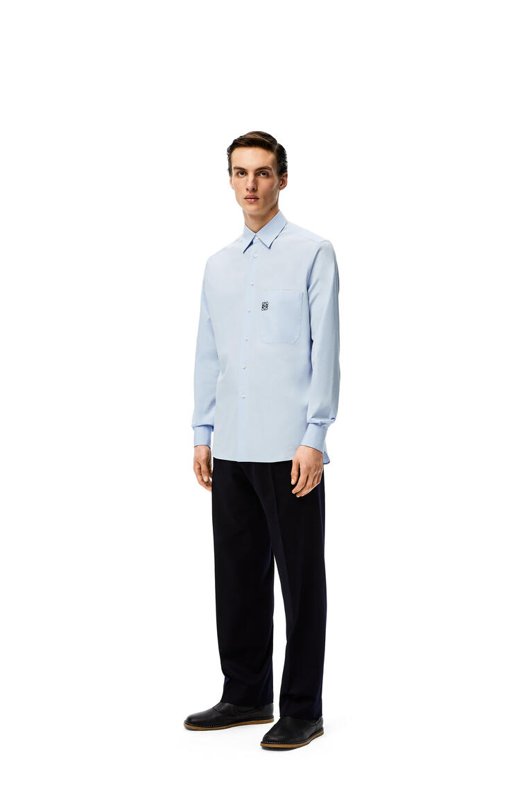 LOEWE Trousers in wool Dark Navy Blue pdp_rd