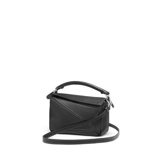 LOEWE Puzzle Mini Bag Black front