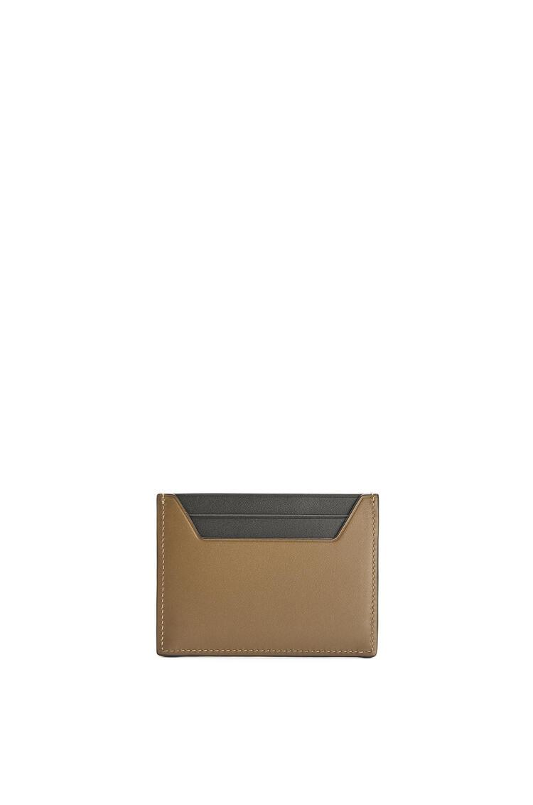 LOEWE 光滑品牌卡包 Khaki Brown pdp_rd