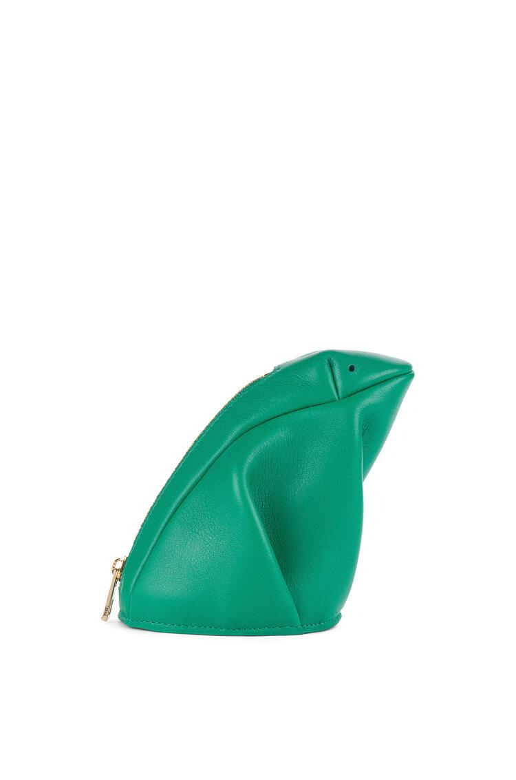 LOEWE Frog coin purse in classic calfskin Green pdp_rd