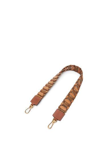 LOEWE Circles strap in classic calfskin Oak/Dark Gold pdp_rd