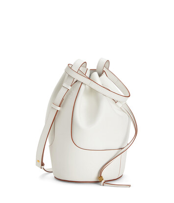 LOEWE Balloon Large Bag Soft White front