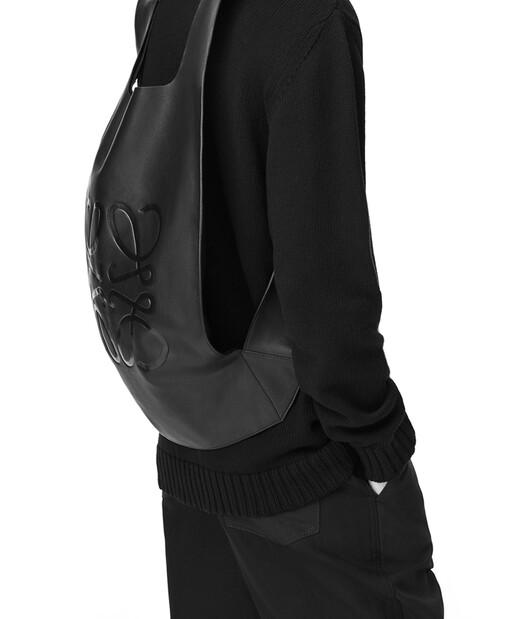 LOEWE Shopper Backpack Tan front