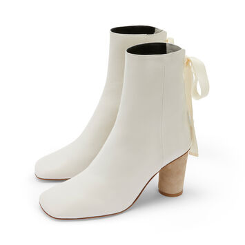 LOEWE Ankle Boot 80 White front