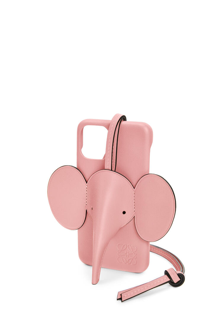 LOEWE Elephant cover for iPhone 11 Pro in classic calfskin Candy pdp_rd