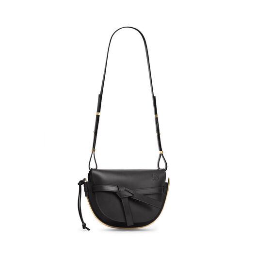 LOEWE Gate Frame Small Bag Black front