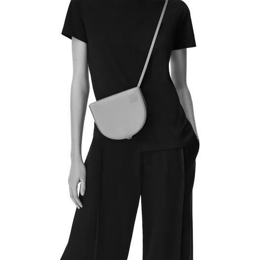 LOEWE Heel Bag Black/Soft White front