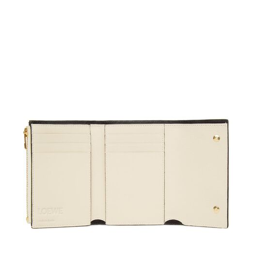 LOEWE Small Vertical Wallet Ivory all